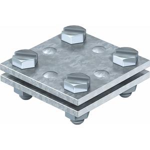 Kreuzverbinder ohne Zwischenplatte 30mm St FT