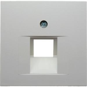 Zentralstück für UAE-Steckdose S.1/B.1/B.3/B.7 Glas polarweiß