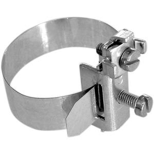 """Erdungsbandschelle V2A 1/8"""" - 1 1/2"""" DM 9,7 - 48,3mm"""