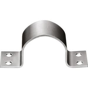 Mastschelle Stahl 4-Loch bis 60 mm
