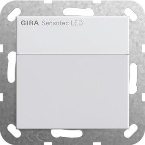 Bewegungsmelder Sensotec LED ohne Fernbedienung für System 55 reinweiß matt