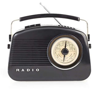 Radio Portable DAB+ Retro RDDB5000BK