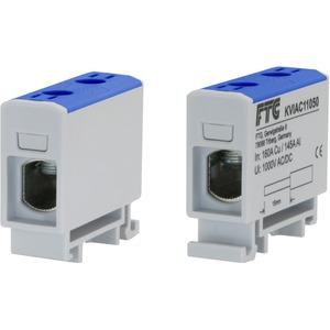 Kompaktaluklemme 1-pol. Cu/AL 1,5-50mm² 160/125A 1/1 blau