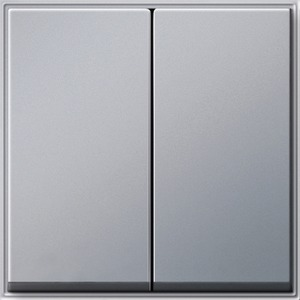 Serienwippen TX 44 (WG UP) Farbe Aluminium