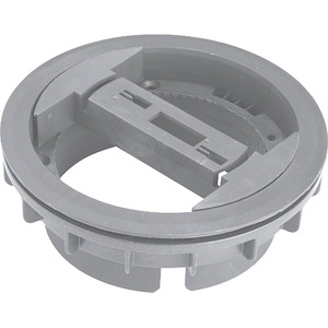 Leitungsauslass mit Rundketten-Anbindung <20mm aus PA lichtgrau