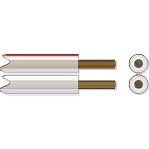 Lautsprecherkabel HFL 2x2,5 transp. 100m Spule