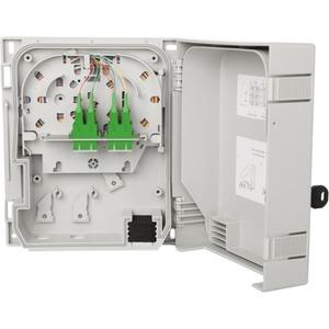 OpDAT HP 6xSC-D APC grün OS2 splice mit Schloss Größe S