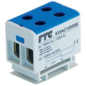 Kompaktaluklemme 1-pol. Cu/AL 35-240mm² 400/315 A 2/2 gelb-grün