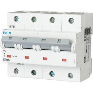 Eaton Leitungsschutzschalter 80A 4-polig D-Char