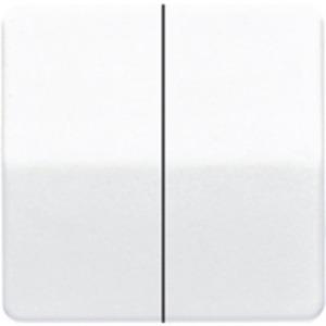 Wippe für Serien-Wippschalter Serien-Tastschalter BA 2fach elektroweiß