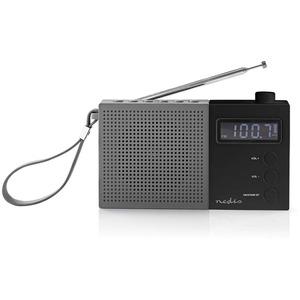 Radio Portable UKW Uhr und Alarm RDFM2210BK