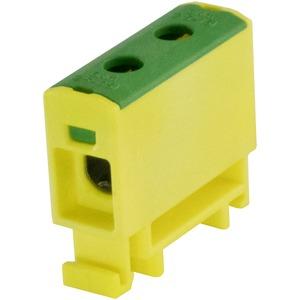Kompaktaluklemme 1-pol. Cu/AL 1,5-16mm² 80/63A 1/1 gelb-grün
