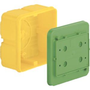 Verbindungskasten für Klemmen bis 16 mm² LxBxT 128x128x80 mm