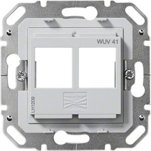 Tragplatte Modular Jack 2-fach