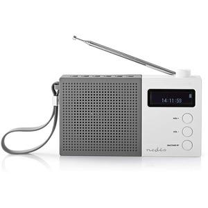 Digitalradio Portable DAB+ Uhr und Alarm RDDB2210WT