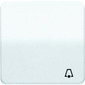 Wippe Symbol Klingel für Taster elektroweiß glänzend