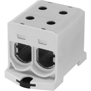 Kompaktaluklemme 1-pol. Cu/AL 25-150mm² 315/250 A 2/2 grau