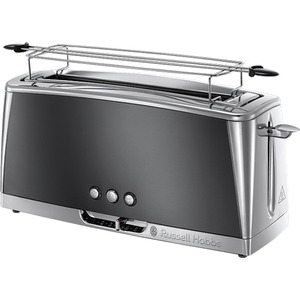 Langschlitz Toaster Luna Moonlight Grey 23251-56