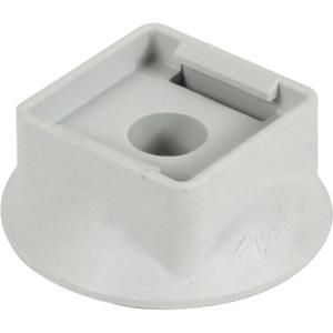 Kunststoffsockel Ø35 mm h=10 mm grau