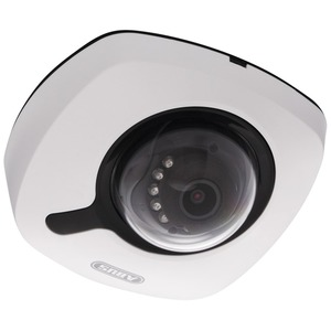 Kamera IP Mini Dome 2 MPx 1080p 6 mm Fixobjektiv weiß