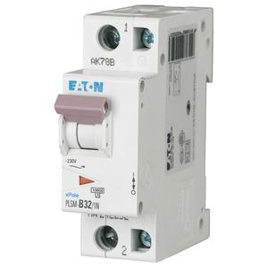 Eaton Leitungsschutzschalter 32A 1-polig+N B-Char