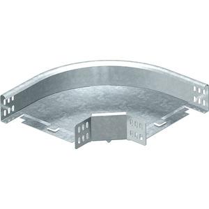 Bogen 90° horizontal mit Winkelverbinder 60x100 St FS