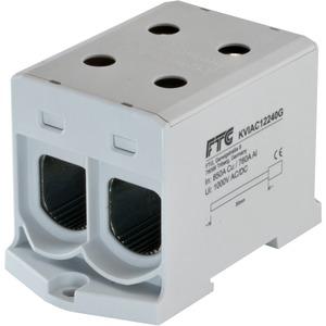 Kompaktaluklemme 1-pol. Cu/AL 35-240mm² 400/315 A 2/2 grau