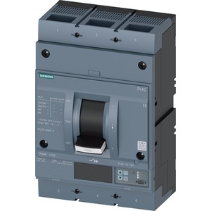 Leistungsschalter 3VA2 FRAME 1000 415 V / 3-pol - ICU 55kA / IN= 800A