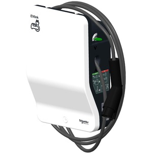 EVlink Wallbox G4 Smart mit Typ 1 Kabel 4,5 m 1ph 7,4 kW - Schlüsselschalter