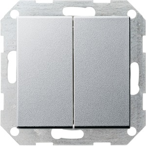 Tastschalter Serien System 55 Aluminium