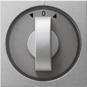 Abdeckung Knebel für Zeit und Jalousie System 55 Aluminium