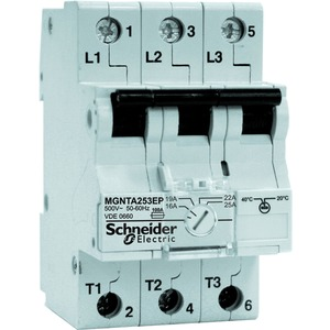 Schneider Electric Tarifschalter 25 A 3 P plombierbar C60H-TA