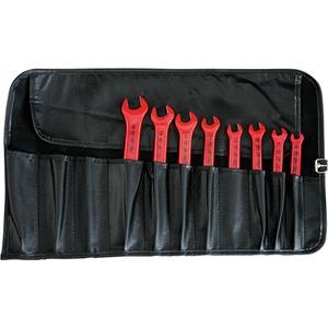 VDE-Einmaulschlüsselsatz in Rolltasche