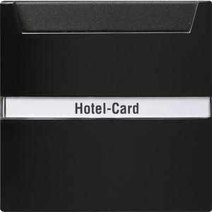 Hotel-Card-Taster beschriftbar für S-Color schwarz