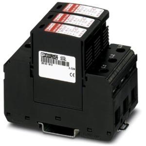 Blitzstrom- / Überspannungsableiter Typ 1/2 VAL-MS-T1/T2 335/12.5/3+0