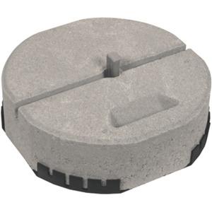 Dehn Betonsockel Ø 337 mm mit Keiltechnik und Unterlegplatte