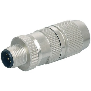 Ethernet Steckverbinder selbstanschließbar Schneidklemme D-cod. 4-pol.