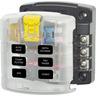 Sicherungshalter für 6x ATO/ATC