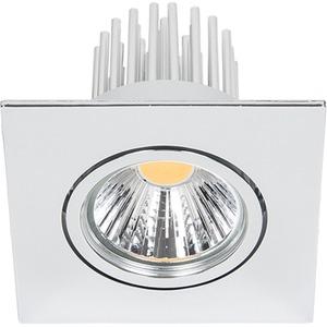 LED Einbaustrahler A 5068Q S chrom 12W warmweiß 38°