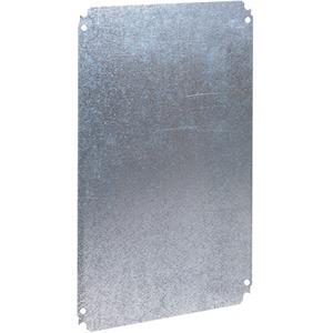 Metallmontageplatte für PLA-Gehäuse H500xB1000mm