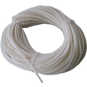 Silikon Isolierschlauch 12 x 0,8 mm bis 180 Grad naturfarben