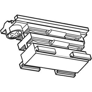 NOA Linearverbinder elektrisch weiß XTS 21-3