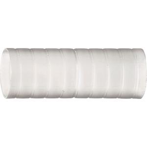 Kunststoff Steckmuffe 50 transparent Rille