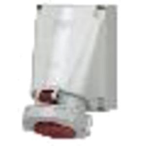 CEE-Wandsteckdose 125A 4p 400V 6h IP67