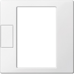 Zentralpl. f. Univers. Temperaturregl.-Eins. m. Touch-Display polarws.