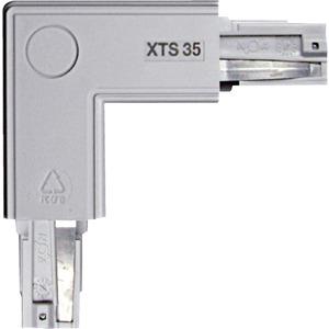 NOA Eckverbinder grau 90° Schutzleiter rechts/innen XTS 35-1