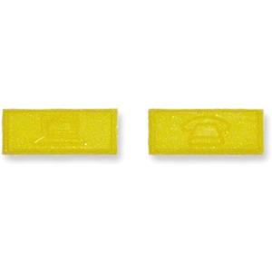 Kennzeichnungs-Ikon Computer / Telefon gelb RAL 1021