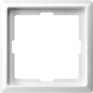 Abdeckrahmen 1-fach polarweiß glänzend ARTEC