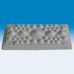Mehler Flansch mit Gummitüllen (IP54) (BxHxT) 240x127x15mm