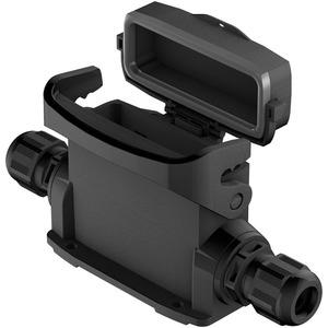 Han-Eco Outdoor 16A-ASG2-M25 mit Kappe / Kabelverschraubung